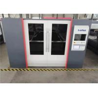 Buy cheap IPG 4KW Fiber Laser Cutting Machine With Auto Calibrated Nozzle System from wholesalers