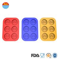 Buy cheap Dollar easy release shaped ice cream large wholesale non plastic make your own custom personalized silicone ice cube tray mold from wholesalers