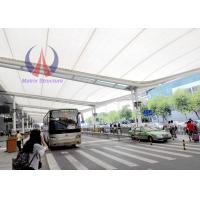 Buy cheap PTFE Membrane Corridor Tensile Roofing Structures , Car Parking Tensile Structure product