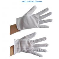 Buy cheap ESD Dotted Gloves Antistatic Work Gloves from wholesalers