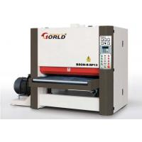 Buy cheap 4ft 1220 mm Width Finger Joint Panel Solid Wood Board Planer Widebelt Sander BSGN-R-RP13 from wholesalers