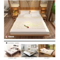 Buy cheap Simple Japanese tatami type bed 1.5 meters MDF with metal double bed and 1.8 single bed 1.2 modern creative walnut color from wholesalers