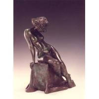 Buy cheap Western Style Bronze Nude erotic Woman Statue from wholesalers