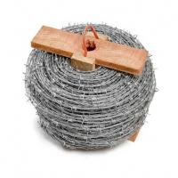 Buy cheap CE Certificate Barbed Wire Security Fence , Hot Dipped Galvanized Razor Wire from wholesalers