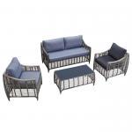 Buy cheap Outdoor Sofa 4 PCS PE Rattan Wicker Garden Furniture from wholesalers