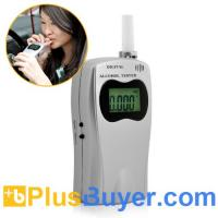 Buy cheap Deluxe Breathalyzer - Alcohol Tester with LCD Screen from wholesalers