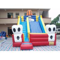 Buy cheap Blue Cat Outdoor Water Slide Inflatable Garden Water Slides For Parties from wholesalers
