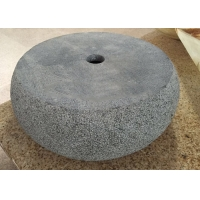 Buy cheap CAD Drawings 420*420*135mm Round Marble Stone Sink Basin product