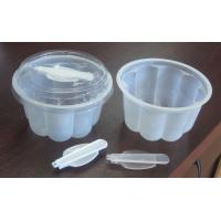Buy cheap 250ml Clear Dessert Disposable Ice Cream Cups For Salad 5.5cm from wholesalers