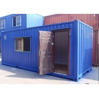 Buy cheap 20ft Dining Room Mobile Prefab Tiny Shipping Container House from wholesalers