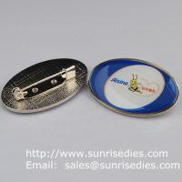 Buy cheap Epoxy dome lapel pin badge with safety pin, China lapel pin badge factory for cheap from wholesalers