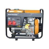 Buy cheap 3 Phase 5000W Portable Small Portable Generators Open Type Hand Start product