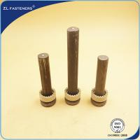 Buy cheap BS5400 Shear Stud Connectors For Steel Structural Building / Bridge from wholesalers