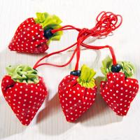 Buy cheap Strawberry shopping bag, foldable strawberry bag product