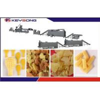 Buy cheap Crispy Pea Snack Extruder Machine , High Output Snacks Production Machines from wholesalers