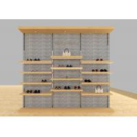 Buy cheap Casual Shoe Shop Display Stands , Modern Footwear Display Shelves For Decoration from wholesalers