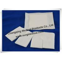 Buy cheap  O  Or  Y  Cutting Non Woven Tracheostomy Gauze Wound Dressing Drain Sponge from wholesalers