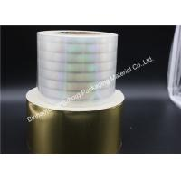 Buy cheap 12 - 50 Microns Thickness BOPP Packaging Film Condoms Great Forming Performance product