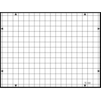 Buy cheap 3nh TE183 A REFLECTANCE 14 horizontal and 19 vertical lines 19 / 14 – TV cameras GRID TEST CHART product