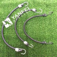 China EPDM Rubber Bungee Tarp Strap Tie Down Cord on sale