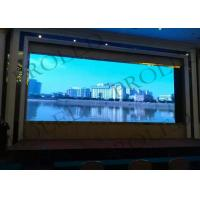 Buy cheap Large Auditorium Indoor Led Display Signs , Demostration Flat Screen Advertising Display from wholesalers