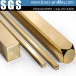 Buy cheap Building Materials Brass Bar Sheet Brush Brass Rectangle Bar from wholesalers