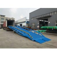 Buy cheap Mobile Dock Ramp Lift Work Platform With Electricity And Hydraulic Power from wholesalers