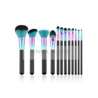 Buy cheap 12 Piece Colorful Synthetic Makeup Brushes For Everyday Use And Professional product