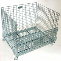 Buy cheap rigid collapsible wire mesh container for storage from wholesalers