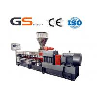 Buy cheap Caco3 Filler Masterbatch Machine Double Screw Extruder Machine from wholesalers