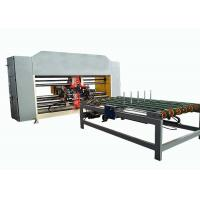 Buy cheap Double Servo Two Piece Carton Box Stitching Machine Touch Screen Operated from wholesalers