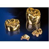Buy cheap Dental Full Cast Gold Crown/Bridge from wholesalers