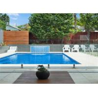 Buy cheap Safety stainless steel and glass balustrade removable pool safety spigot railing from wholesalers