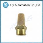 Buy cheap Airtac Pneumatic 3/8 Muffler BSL03 Sintered Brass Yellow Universal Exhaust Pipe Valved Muffler from wholesalers