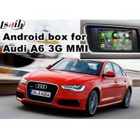 Buy cheap Audi A6 S6 Video interface Mirror Link Rearview Gps Car Navigation Device Quad Core 1.6 Ghz Cpu from wholesalers