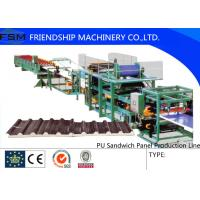 Buy cheap Discontinuous PU Sandwich Panel Production Line double-layer laminator from wholesalers