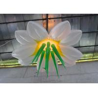 Buy cheap Multi Color Hanging Lighting Large Inflatable Flowers With Led Bulb from wholesalers