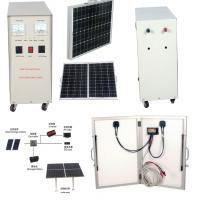 Buy cheap 600W off grid solar power systems for Homes for mobile phones , MP3 player DC 12V AC 220V from wholesalers