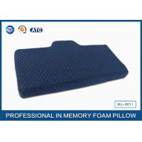 Buy cheap Comfort and soft Unique Gel Memory Foam Wedge Pillow Cooling Gel Bed Pillow from wholesalers