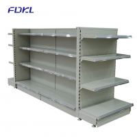 Buy cheap Multi Color Metal Vegetable Display Rack , Commercial Retail Display Shelving from wholesalers
