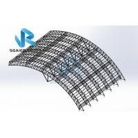 Buy cheap Wind Resistance Roof Prefabricated Steel Structure Steel Frame Construction from wholesalers