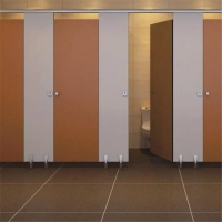 Buy cheap Waterproof Decorative Hpl Urinal Partition , 12mm Hospital Cubicles from wholesalers