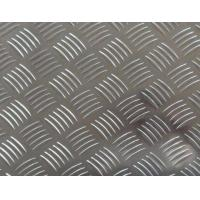 Buy cheap Easy Processing Aluminum Tread Plate , Coil 5 Bar Chequered Embossed Aluminum Sheet Plate from wholesalers