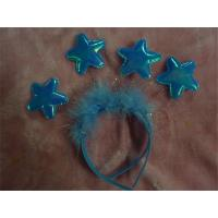 Buy cheap Creative Solid Cartoon Five pointed Star Headband for Women Girls Princess Headwear Party Decoration from wholesalers