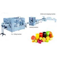 Buy cheap Automatic Fruit Juice Production Line , Fruit Juice Factory Machines Ultrafiltration System from wholesalers