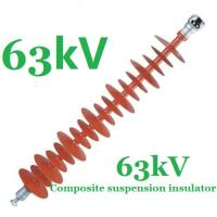 Buy cheap Anti - Pollution Small Volume Electrical Insulators 63kV IEC 61109 Standard from Wholesalers