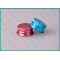 Buy cheap 20mm Colorful Aluminum Screw Top Cap For Face Care Emulsion Containers from wholesalers