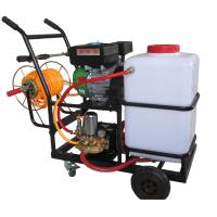 Buy cheap 3KW Top quality agricultural petrol engine power sprayer by hand pump from wholesalers