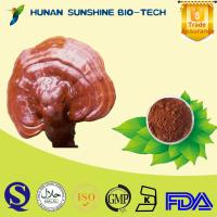 Buy cheap Sedative amnesia ganoderma reishi mushroom extract 10% Reishi Mushroom Polysaccarides from wholesalers