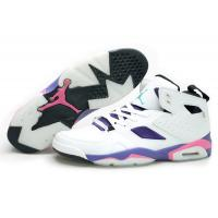 Buy cheap Nike Air Jordan 6 Retro shoes Men's footwear white/purple-pink 028 from wholesalers
